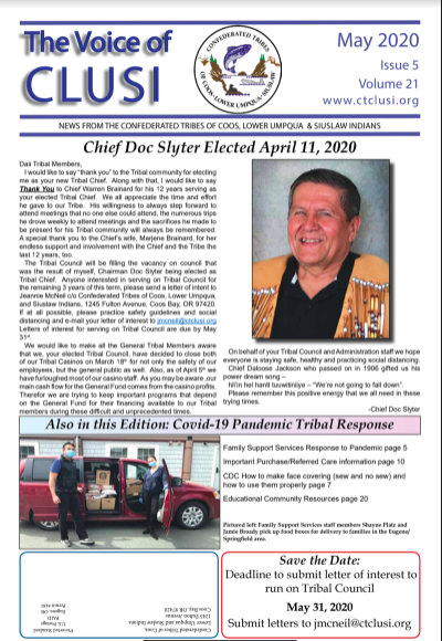 Voice of CTCLUSI May 2020