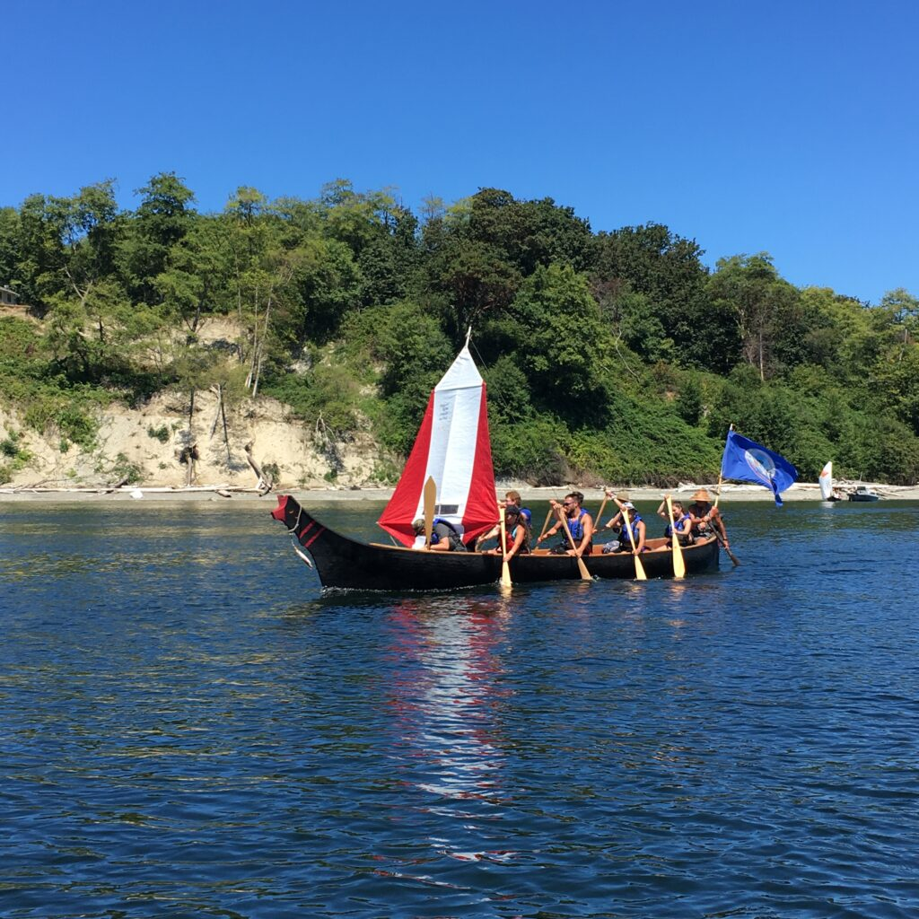 2016 canoe journey youth